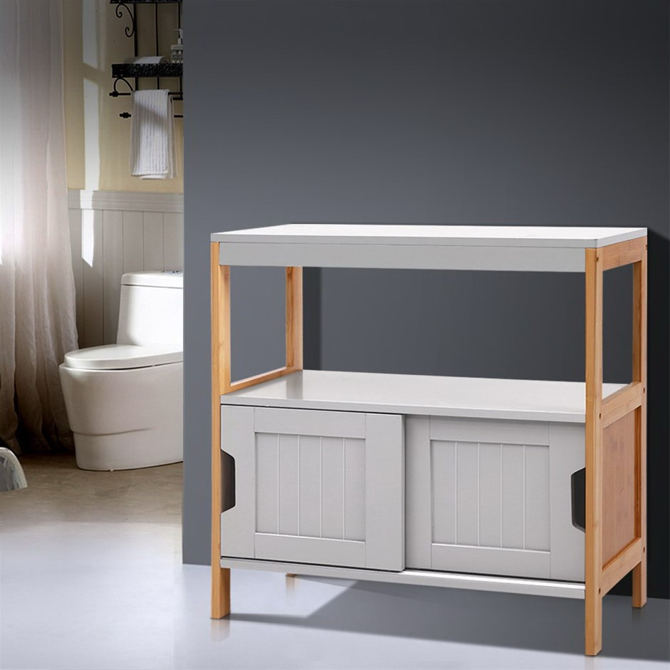 Artiss Buffet Sideboard Cabinet Storage Shelf Cupboard Hallway Sliding Door