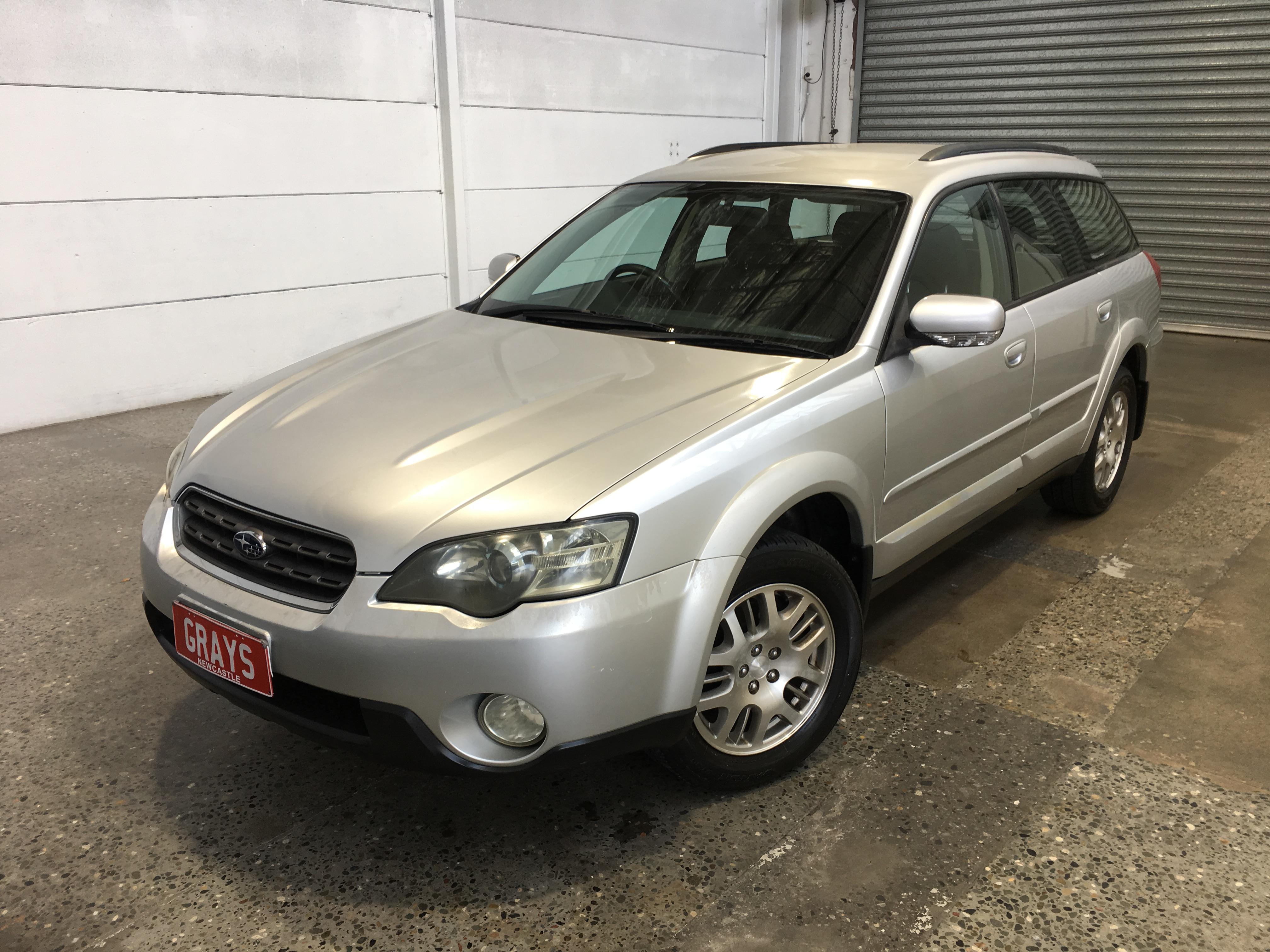 2004 Subaru Outback 2.5i B4A Manual Wagon