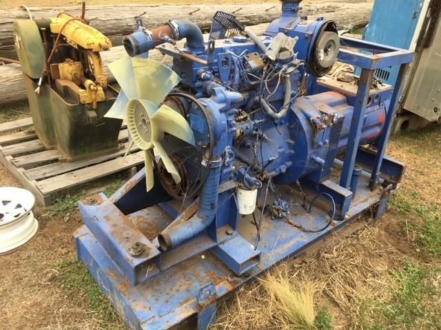 Generator, Perkins Engine on skid