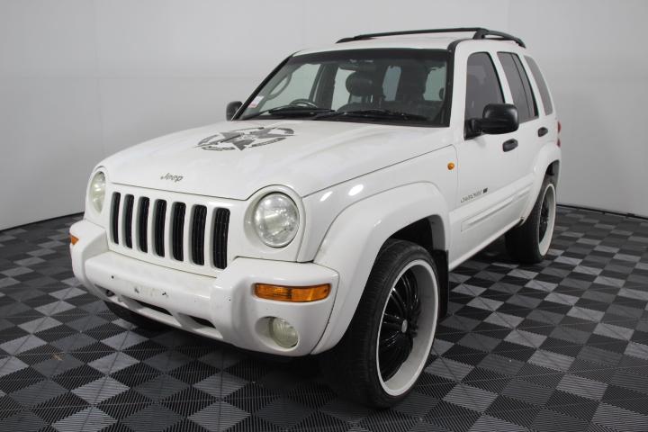 2001 Jeep Cherokee Limited (4x4) Auto V8 Turbo 1UZ Engine, 108,915km