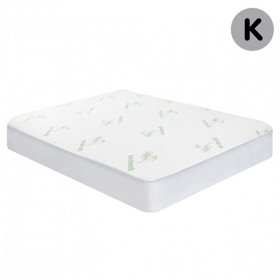 Laura Hill Bamboo Fitted Mattress Protector - King Size