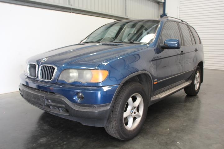 2002 BMW X5 3.0i E53 4Wd