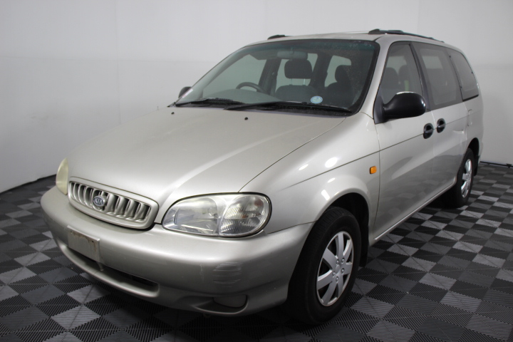 1999 Kia Carnival LS Automatic 8 Seat People Mover