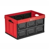 GREENMADE Collapsible InstaCrate 53cm x 36cm x 29.5cm, Stackable, Red, Made