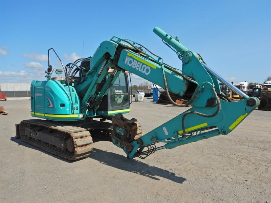 Kobelco SK135SR-2 Hydraulic Excavator (Tracked) (Pooraka, SA)