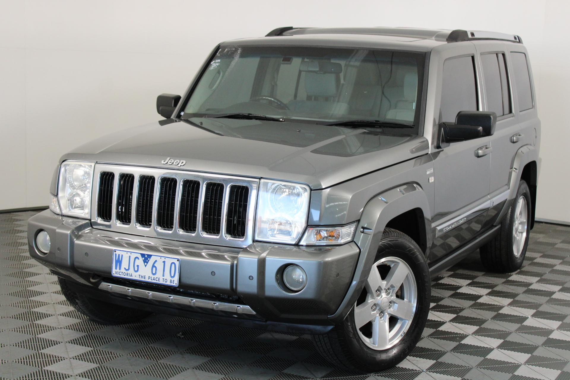 2007 Jeep Commander Limited Turbo Diesel Automatic 7 Seats Wagon