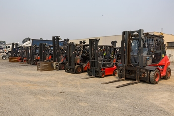 Forklifts Included In Sale