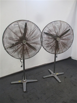 Qty 2 x Dynabreeze FA-23105 750mm Industrial Fan