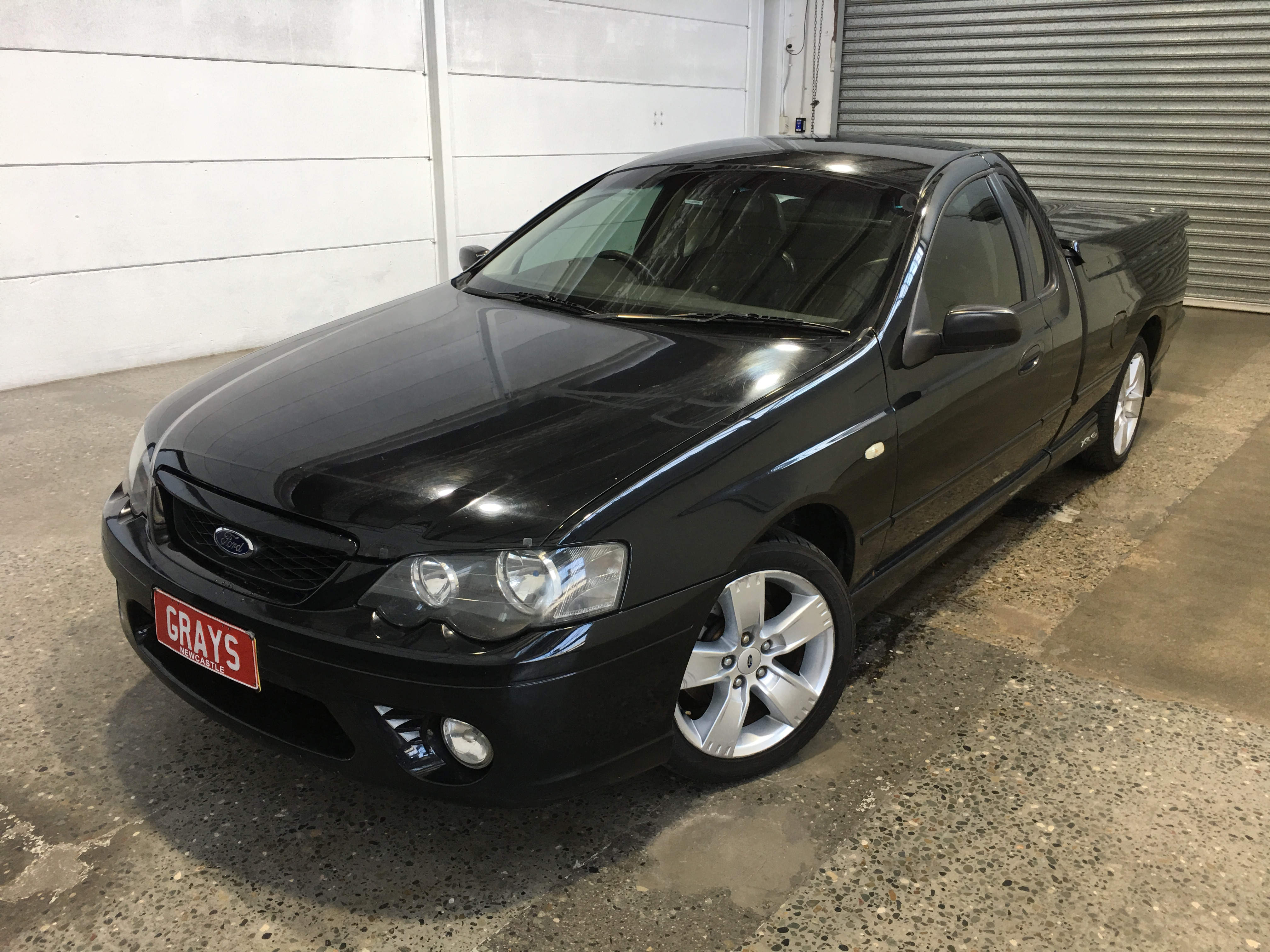 2008 Ford Falcon XR6 (LPG) BF MKII Automatic Ute