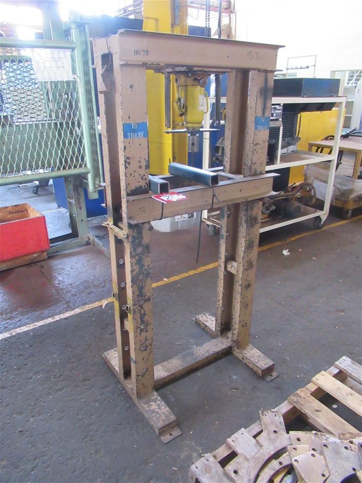 15 Ton Workshop Press (Enfield, SA)