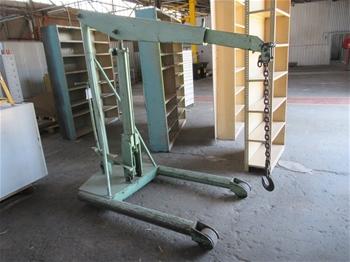 Large Abbey Engine Crane