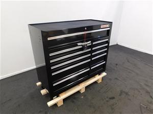 Fuller Pro 489-2111B Black 11 Drawer Too