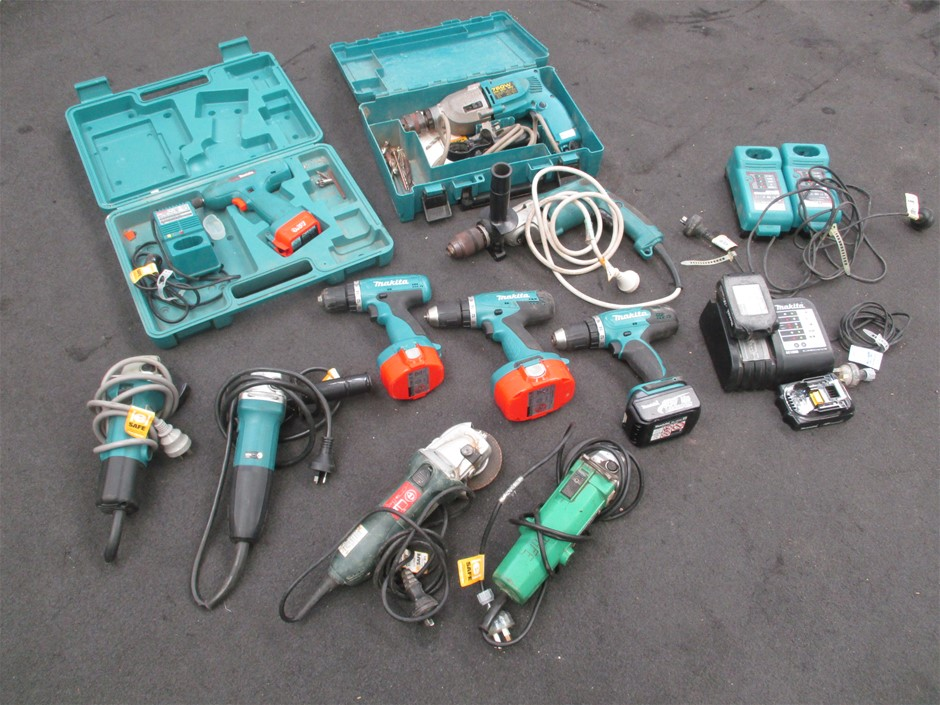 Qty 10 x Assorted Power Tools