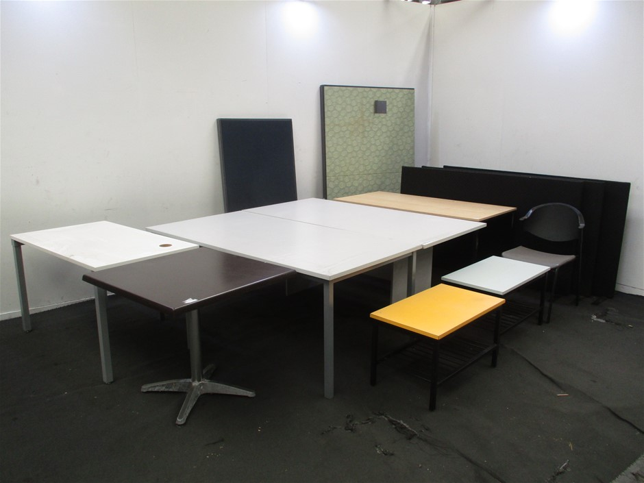 Qty 13 x Assorted Office Furniture