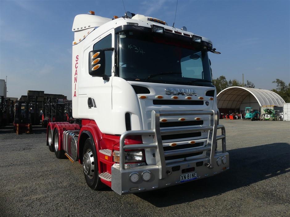 2010 Scania R560 6 x 4 Prime Mover Truck Compli