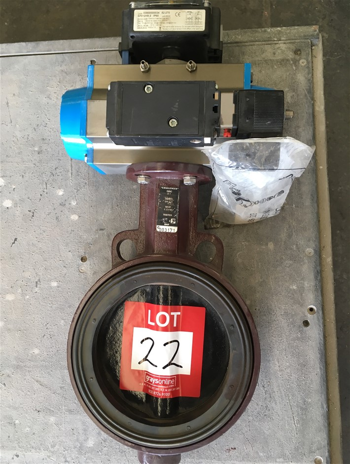 VALBIA Butterfly Valve 150mm dia.