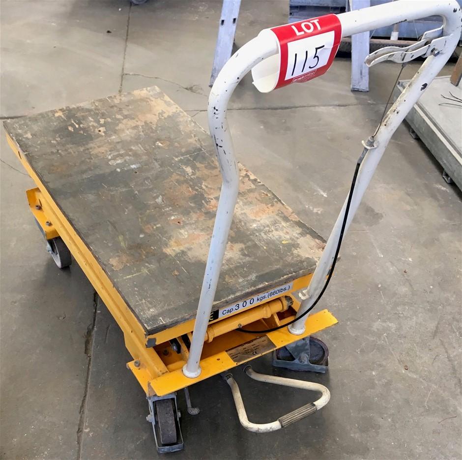 Hydraulic Lift Table. Manual. Cap: 300kg