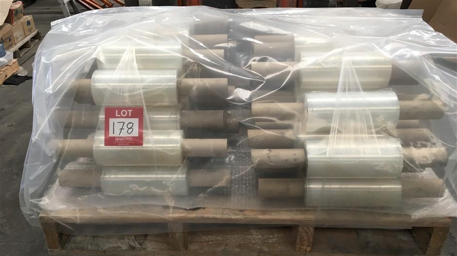Rolls of Plastic Hand Film. (220mm Wide)