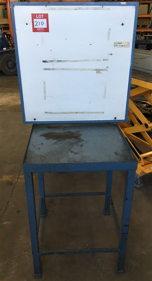 Steel Table (870mm H x 610mm W x 610mm D)