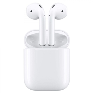 APPLE AirPods with Charging Case, White.