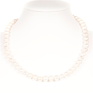 Set Of Freshwater Pearl Necklace, Bracel