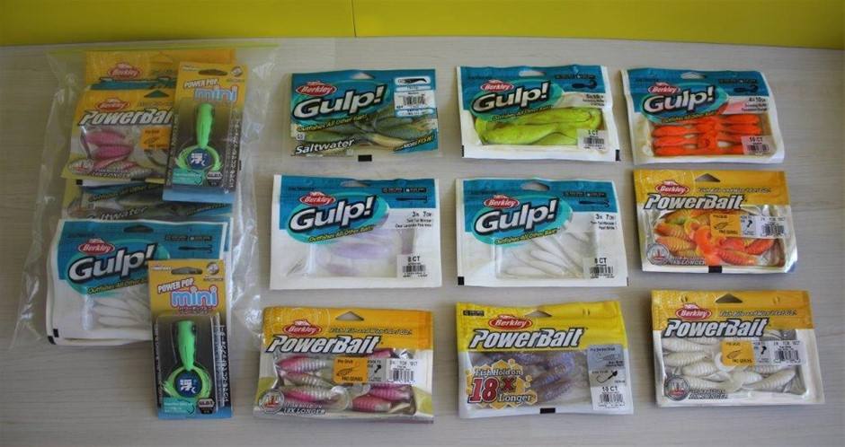 Gulp And Powerbait Assorted Fishing Lure Packs