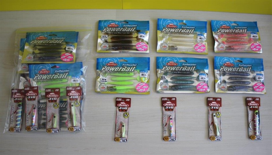 Saltwater Powerbait And Berkley Jig It Assorted Fishing Lures And Lure Pack