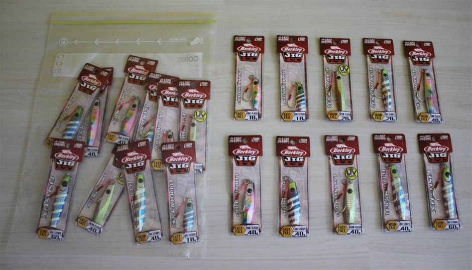 Berkley Jig It Assorted Fishing Lures