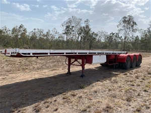 Haulmark ST3-A Single Flat Top Trailer