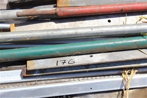 Assorted Length Pipe and Stripping