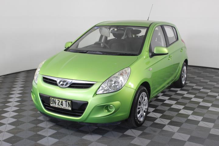 2011 Hyundai i20 Active PB Manual Hatchback