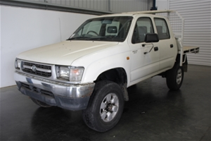 2000 Toyota Hilux (4x4) Manual Dual Cab
