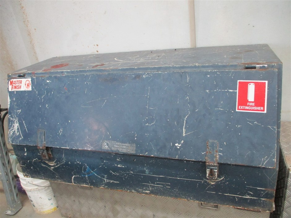 Steel Lock Box