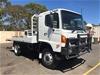 2007 Hino FT 4 x 4 Tray Body Truck