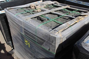 1 x Wood Crate of Bassalt Cable Stone Bl