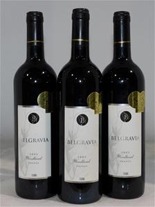 Belgravia Wines Woodland Shiraz 2002 (3x