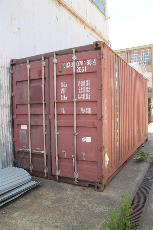 1997 KB20-SH-73R1 20' High Cube Shipping Container
