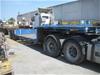 Freighter Low Bed Bogie Axle Trailer