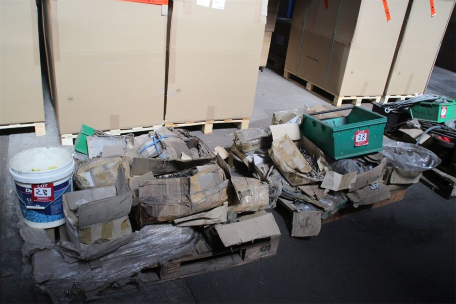 2x Pallets of Assorted Work Shop Sundries