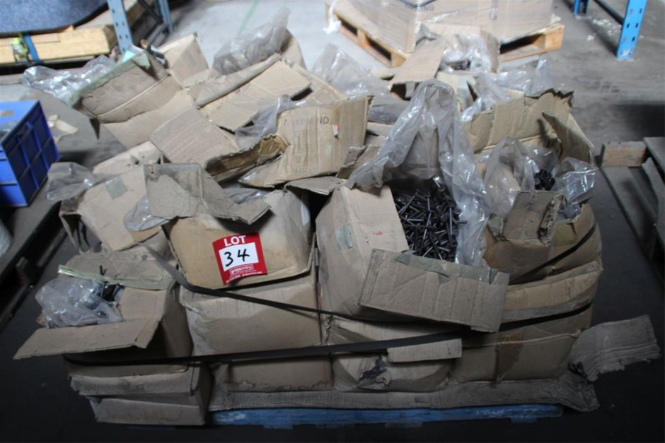 Pallets of Assorted Work Shop Sundries