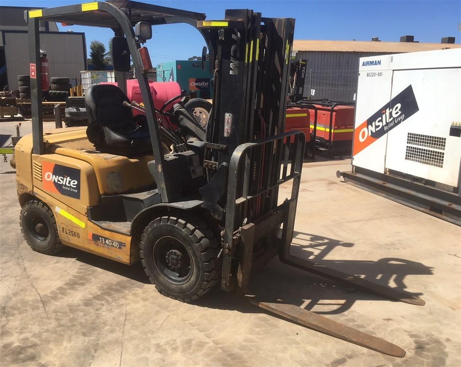 2010 TCM FD-25T-3 2T 4.3m Diesel Forklift (Location: Kalgoorlie)