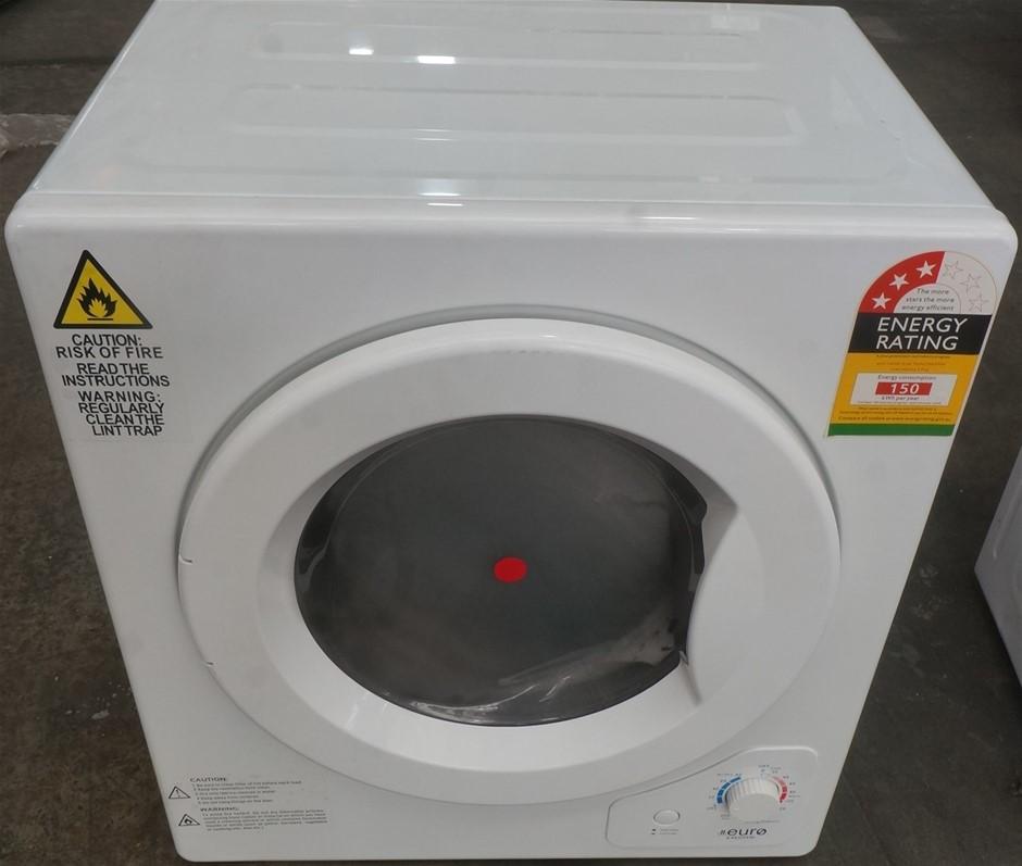 Euro Appliances E4KDMW 4kg Manual Dryer