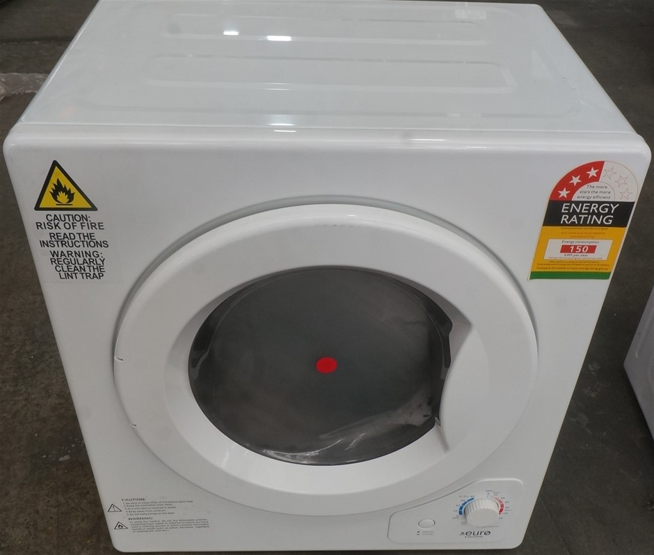 Euro Appliances E4KDMW 4kg Manual Dryer