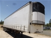 01/2000 Vawdrey VBS30D Triaxle Curtainsider/Refrigerated Trailer
