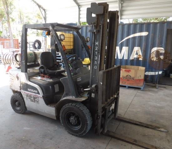 4 Wheel Counterbalance Forklift