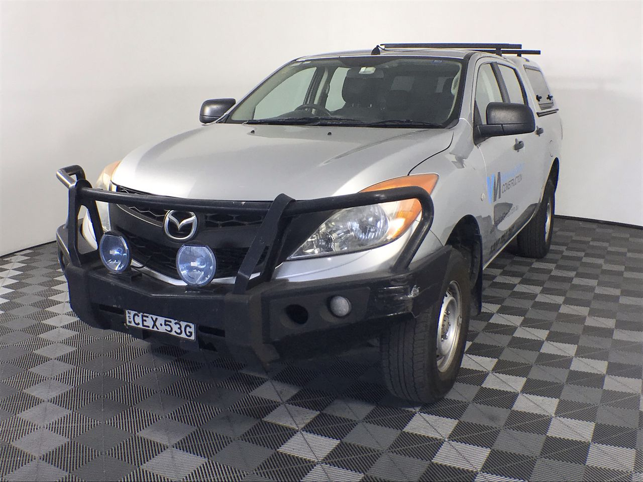 2011 Mazda BT-50 4X2 XT Turbo Diesel Automatic Dual Cab Ute