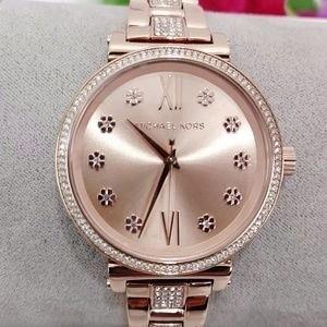 Ladies brand new Michael Kors Couture NY 'Sofie' feminine & classy watch