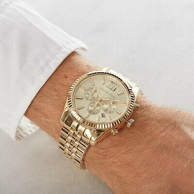 Mens unworn Michael Kors Couture 'Lexington' men's watch