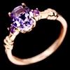 Gorgeous Genuine Amethyst Ring.