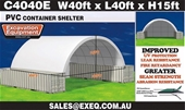 Unused Container Shelters - Darwin